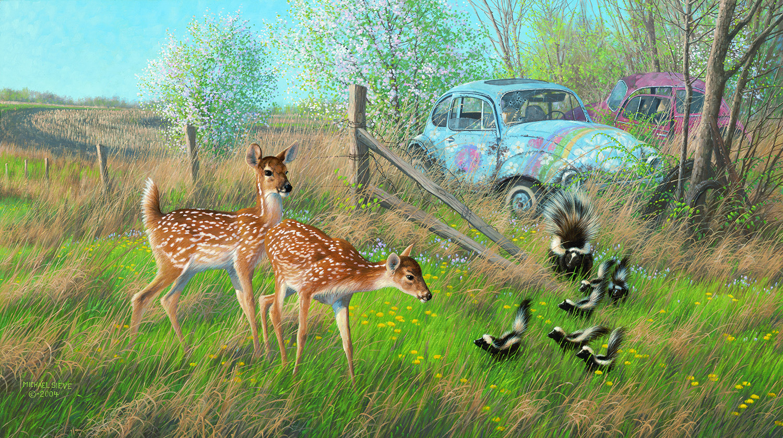 – Deer Valley Art Wildlife Whitetail Chisholm