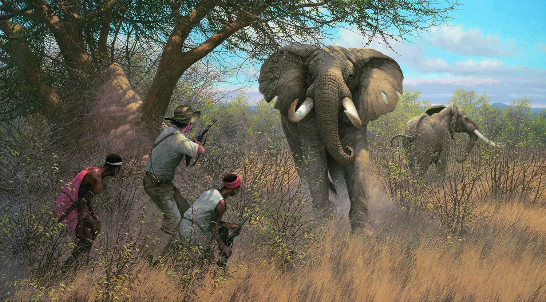 Africa Chisholm Valley Wildlife Art